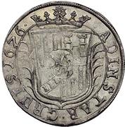 1 Gulden - Georg Wilhelm – revers