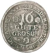 16 groschen Gustav – revers