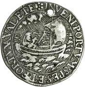 ¼ Thaler - Luise Juliane von Erbach (Death) – revers
