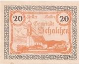 20 Heller (Schalchen) -  avers