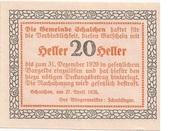 20 Heller (Schalchen) -  revers