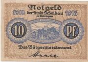 10 Pfennig (Schalkau) -  avers