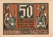 50 Pfennig  (Stadt Schalkau Thür) – avers