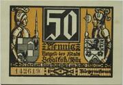 50 Pfennig (Schalkau; History Series - Issue 1) – avers