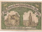 50 Pfennig (Schalkau) – avers