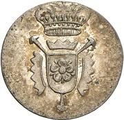 4 pfennig Georg Wilhelm – avers
