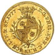 1 ducat Philipp Ernst – avers