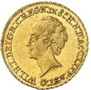 1 ducat Wilhelm Friedrich Ernst – avers