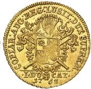 1 ducat Wilhelm Friedrich Ernst – revers