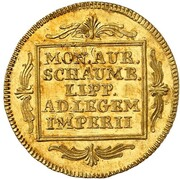 1 ducat Philipp Ernst – revers