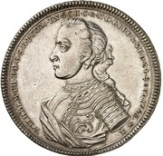 1 thaler Wilhelm Friedrich Ernst – avers