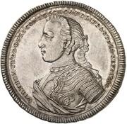½ thaler Wilhelm Friedrich Ernst – avers