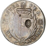 ⅔ thaler Philipp I – avers