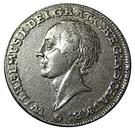 1 thaler Friedrich Ernst – avers