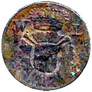 1 pfennig Wilhelm IX – avers