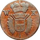 1 pfennig - Friedrich II – avers