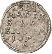 1 mattier Wilhelm VI – revers