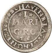 1 mariengroschen Wilhelm VI – revers