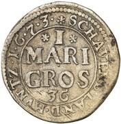 1 mariengroschen Karl – revers