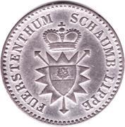 1 Silbergroschen - Georg Wilhelm – avers