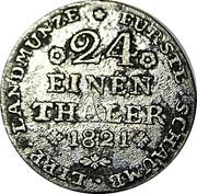 1 groschen Georg Wilhelm – revers