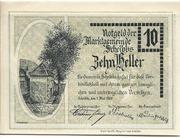 10 Heller (Scheibbs) – avers