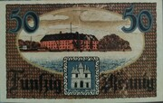 50 Pfennig (Schleswig-Holstein-Sonderburg) -  avers