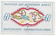 60 Pfennig (Bokel bei Pinneberg) – avers