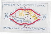 30 Pfennig (Bokel bei Pinneberg) – avers