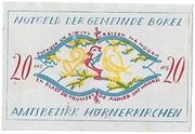 20 Pfennig (Bokel bei Pinneberg) – avers
