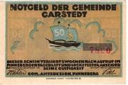 50 Pfennig (Garstedt) – avers