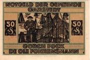 50 Pfennig (Garstedt) – revers