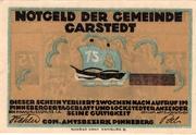 75 Pfennig (Garstedt) – avers