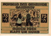 75 Pfennig (Garstedt) – revers