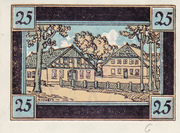 25 pfennig (Rellingen) – revers