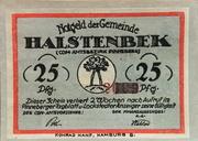 25 Pfennig (Halstenbek, Municipality of) – avers