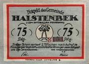 75 Pfennig (Halstenbek, Municipality of) – avers