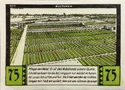75 Pfennig (Halstenbek, Municipality of) – revers