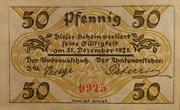 50 Pfennig (Klein-Nordende-Lieth, Municipality of) – revers