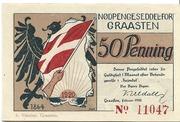 50 Pfennig (Graasten) – avers