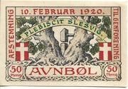 50 Pfennig (Auenbüll) – revers