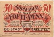 50 Pfennig (Bredstedt) – avers