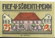 75 Pfennig (Bredstedt) – revers