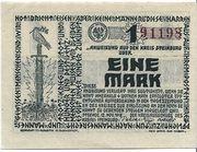1 Mark (Steinburg) – avers