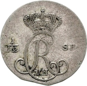 5 Schilling Courant / 1/12 Specie - Christian VII – avers