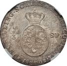 ⅓ Species-Taler - Christian VII de Danemark – revers