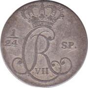 2½ Schilling Courant (Christian VII de Danemark) – avers