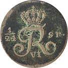 2½ shilling Courant - Friedrich VI de Danemark – avers