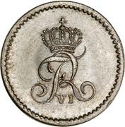 8 Reichsbank Schilling - Friedrich VI de Danemark – avers