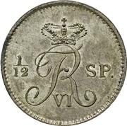 16 reichsbank schilling Frederik VI – avers